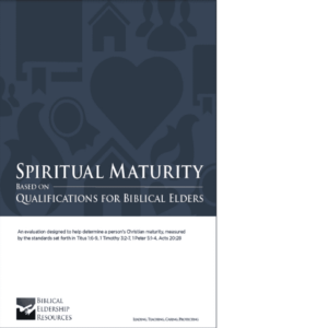 Spiritual Maturity book